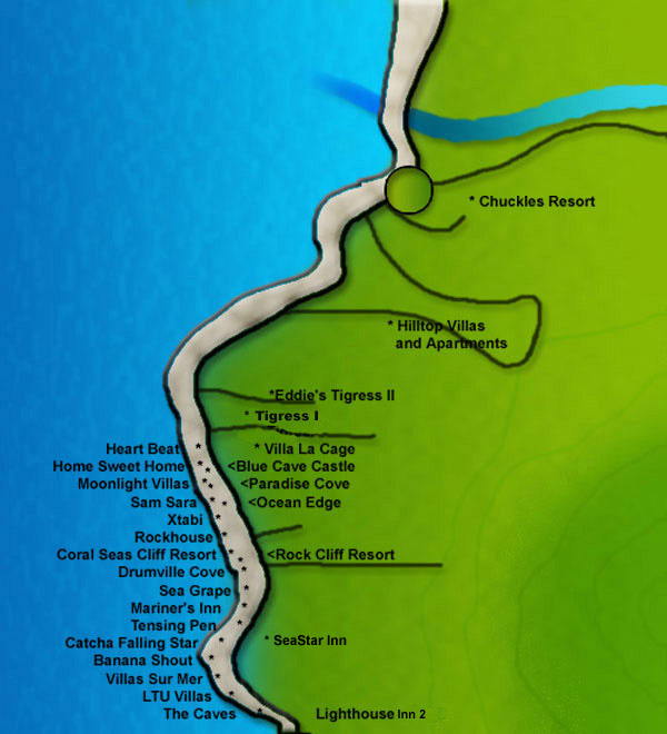Cliff Map